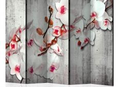 Paraván - Concrete Orchid II [Room Dividers]